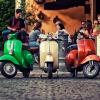 Vespa-Tour im September